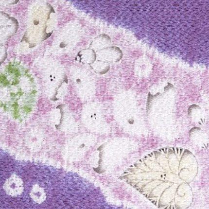 「辻が花」の制作工程は・・・【 縫い締めと墨書きで・・・心和らぐ「辻が花」の世界 】